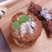 Cupcake de Blackberry — Photo