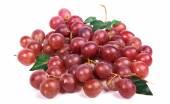 красный виноград — Стоковое фото