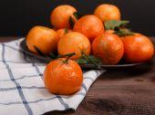 Bunch of tangerines — Fotografia Stock