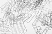 Heap of clips — Stock Photo