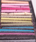 Pastel chalks — Stock Photo