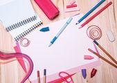 Drawing materials — Stock Photo