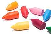 Colorful crayons — Foto Stock