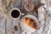 Breakfast of coffee — Stock Photo