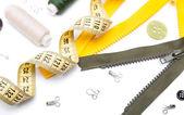 Acessórios de costura — Fotografia Stock