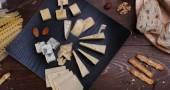 Different cheese — Zdjęcie stockowe