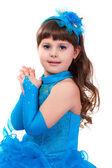 Girl in princess dress — Stock Photo