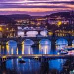 Bridges in Prague — Stock Photo #56230531