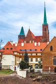 Wroclaw old city — Stock Photo