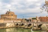 Сант Анджело замок — Стоковое фото
