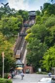 Budapest funicular — Stock Photo