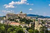 Budapest Royal Palace — Stock Photo