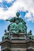 Maria Theresia monument — Stock Photo