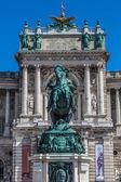 Viyana hofburg sarayı — Stok fotoğraf