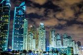 Dubai marina stadsbild — Stockfoto