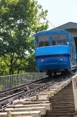 Funicular trains — Stock Photo
