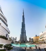 View of Burj Khalifa — Stock Photo