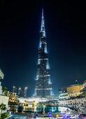 Vista do Burj Khalifa — Fotografia Stock