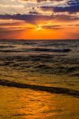 Dubai sea and beach — Stock Photo