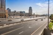 Dubai Sheikh Zayed Road — Stock Photo