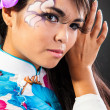 Asian woman with make-up — Stock Photo #56254351