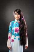 Asian woman with make-up — Foto Stock