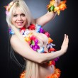 Girl in hawai costume — Stock Photo #56263521