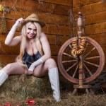 Sexy girl in underwear — Stock Photo #56264253