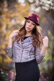 Girl fashion shot — Stock Photo