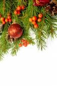 Weihnachten Hintergrund. — Stockfoto