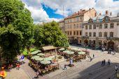 Lviv historic center — ストック写真