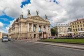 Opera Theatre in Lviv — Stock Photo