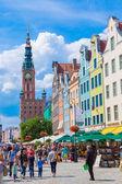 Gdansk Old City — Foto de Stock