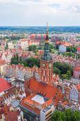 Gdansk aerial view — Foto de Stock