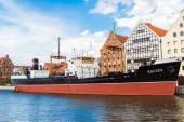 SS SOLDEK in Gdansk — Foto de Stock