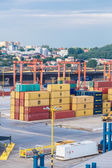 Deepwater Container Terminal — Stock Photo