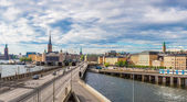Panorama da cidade velha — Foto Stock