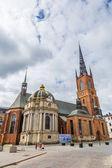 Riddarholmen Church tower — Stock Photo