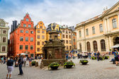 Stortorget place in Gamla stan — Stock Photo