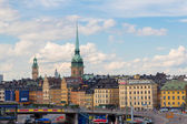 Het oude gedeelte van Stockholm — Stockfoto
