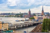 The old part of Stockholm — Стоковое фото