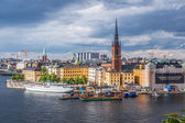 The old part of Stockholm — Stock Photo