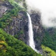 Waterfall in Norway — Stock Photo #59136937