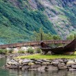 Country summer landscape, Norway — Stock Photo #59137435