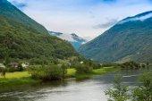 Sognefjord en noruega — Foto de Stock