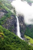 Waterfall in Norway — Stock Photo