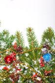 Christmas background. Eve framework — Stock Photo