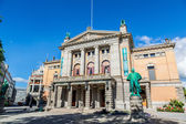 The National Theatre in Oslo — Stock Photo