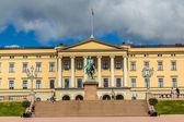 Royal Palace  in Oslo — Stock Photo