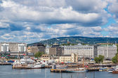 Oslo Norway Harbor — ストック写真